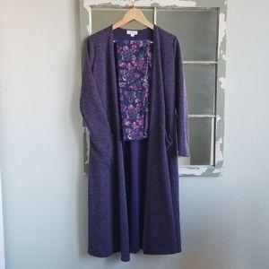 LLR 💜 Sweater Sarah & Rose Leggings